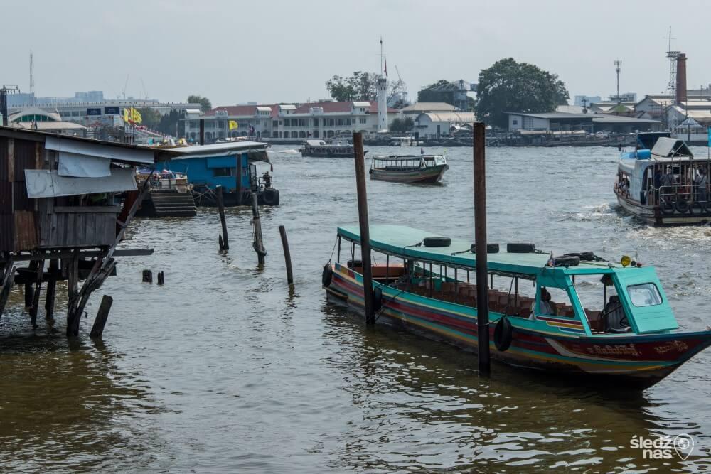 Tramwaje wodne w Bangkoku