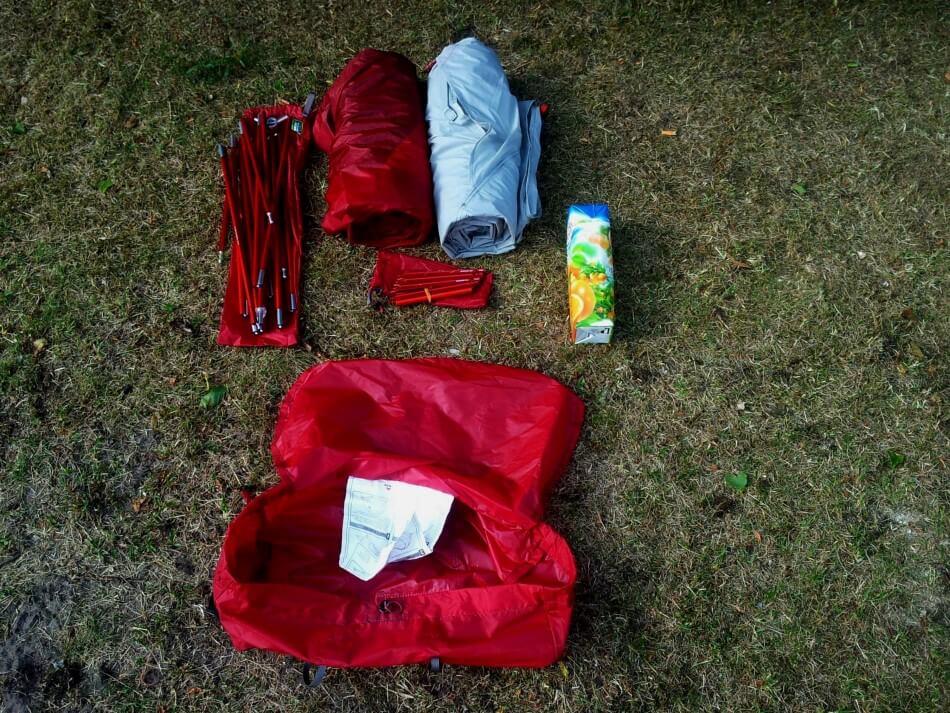 komponenty namiotu