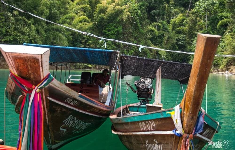 Najstarszy las deszczowy na świecie w Parku Narodowym Khao Sok