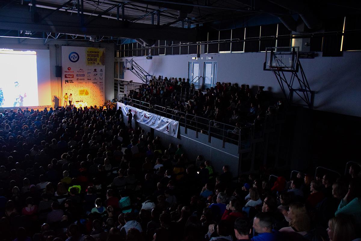 14. Krakowski Festiwal Górski - wystąpienie Alexa Txikon'a (zdj. A. D. Janik - Zabakcylowani.PL)