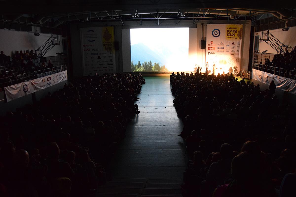 14. Krakowski Festiwal Górski - Marc Andre Leclerc (zdj. A. D. Janik - Zabakcylowani.PL)