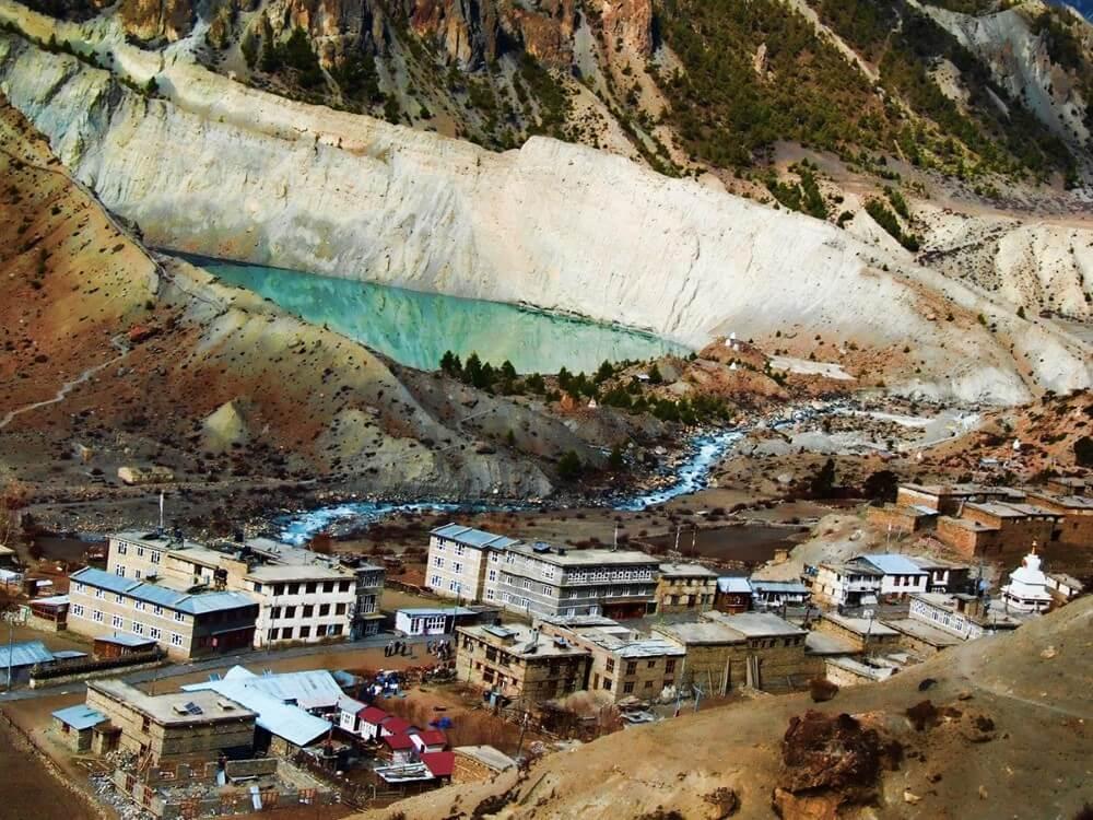 Manang, 3519 m n.p.n. Annapurna Circuit