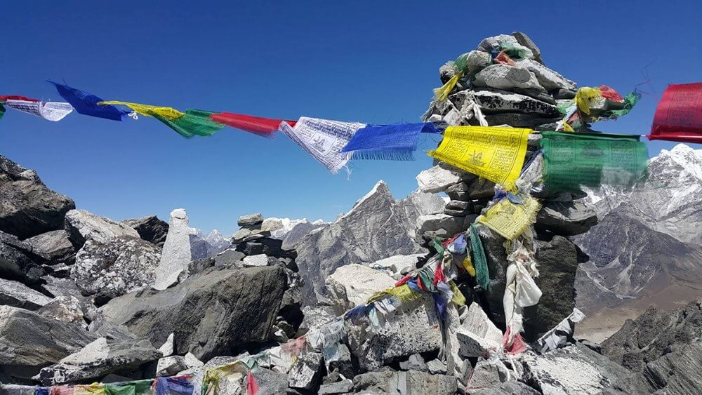 Przełęcz Kongma La Pass, 5535 m n.p.m., okolica Everest Base Camp