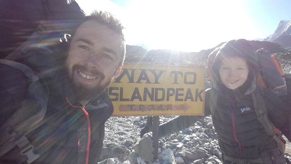 Trekking w Nepalu - Chukhung, droga na Island Peak