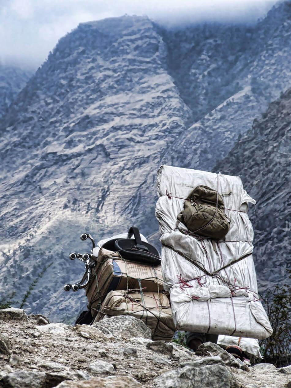 Trekking w Nepalu - Tragarz (Porter)