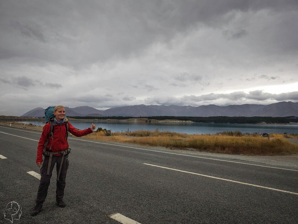 Autostopem przez Nową Zelandię