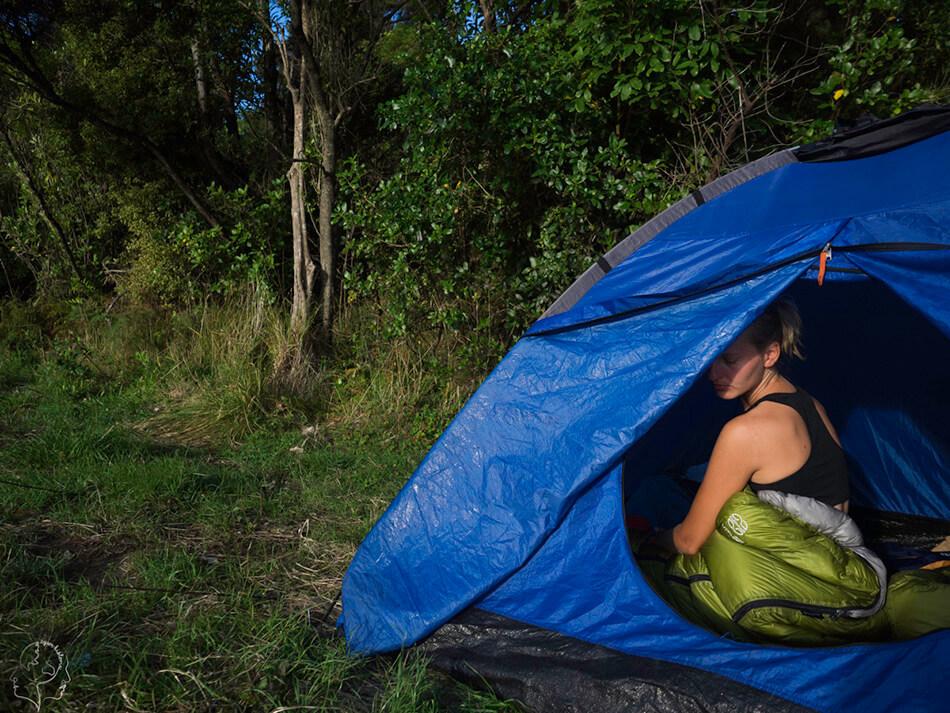 Camping w Nowej Zelandii