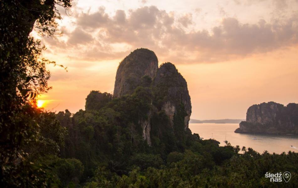 Punkt Widokowy przed Phra Nang