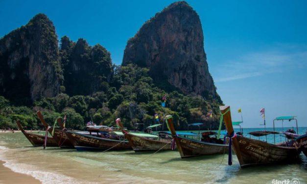 Tajlandzka Plaża Railay – Mekka Wspinaczy