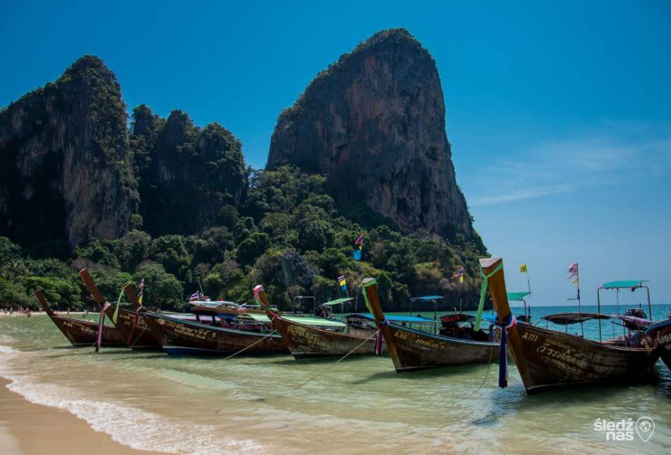 Tajlandzka plaża Railay