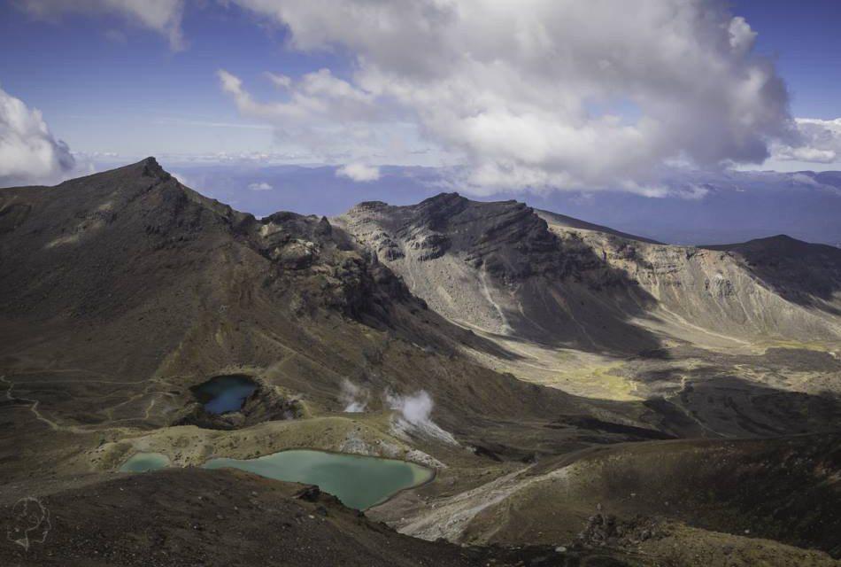 Najpiękniejsze miejsca w Nowej Zelandii - Tongariro Alpine Crossing
