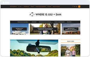 Where is July + Sam