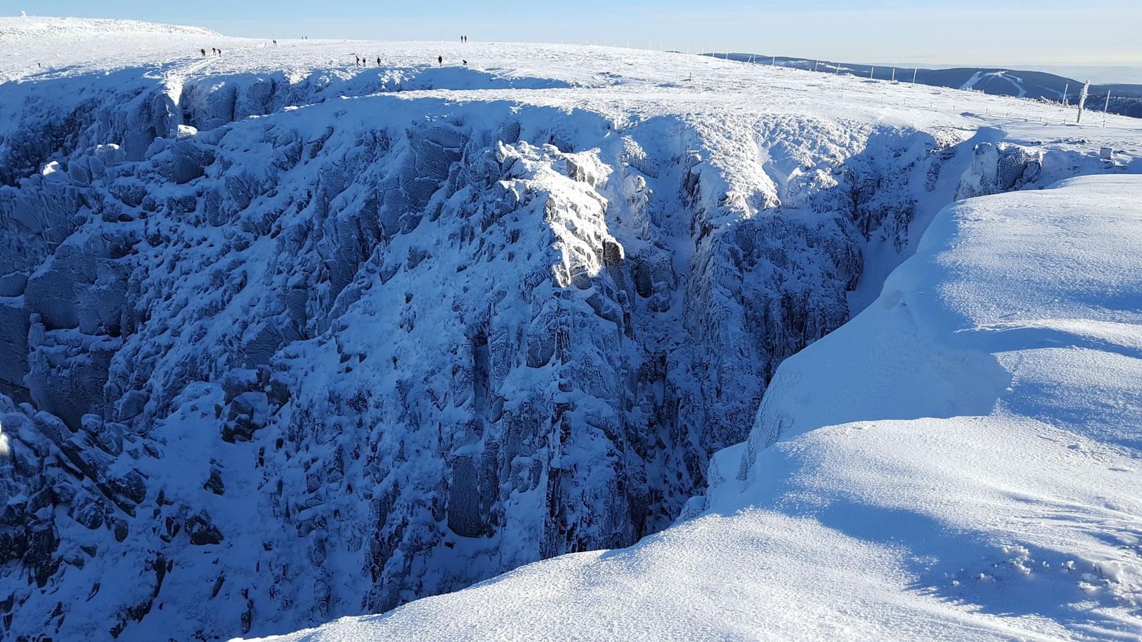 Karkonoski Park Narodowy Dziką Zimą
