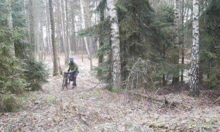 Trasa rowerowa Leśno Rajza – W poszukiwaniu opuszczonej osady Krywałd. Dzika Polska VI